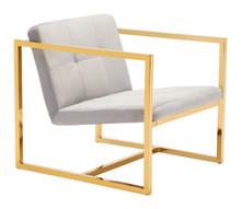 Alt Arm Chair Gray Velvet, 16304