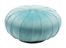 Bund Ottoman Light Blue Velvet , 16314