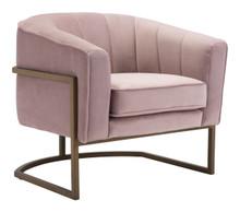 Lyric Occasional Chair Pink Velvet , 16331