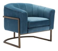 Lyric Occasional Chair Blue Velvet, 16333