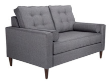 Morgan Loveseat Dark Gray, 16351