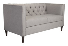 Grant Loveseat Light Gray, 16354
