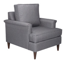 Campbell Arm Chair Dark Gray, 16356