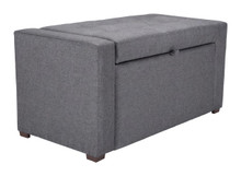 Anderson Bench Dark Gray, 16359