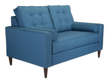Morgan Loveseat Blue, 16363