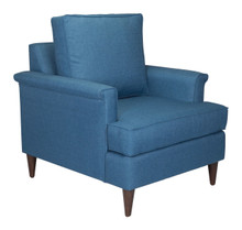 Campbell Arm Chair Blue, 16368