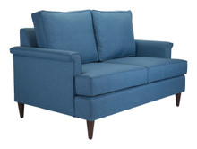 Campbell Loveseat Blue, 16369