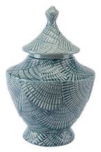 Escalera Lg Covered Jar Mint, 16467