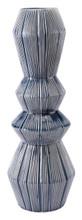 Quarto Vase Blue & White, 16469