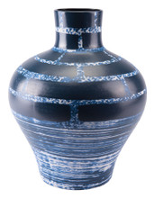 Ocean Tall Vase Blue & White, 16473