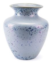 Crystal Blue Tall Vase Blue, 16508