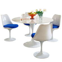 Lippa 5 Piece Dining Set in Blue