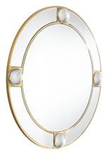 Round Lucite Mirror Mirror And Lucite, 16571