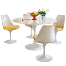 Lippa 5 Piece Dining Set in Yellow
