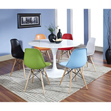 Lippa 7 Piece Dining Set in MultiColored