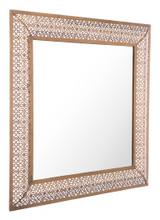 Moroccan Escamas Mirror Antique Gold, 16685