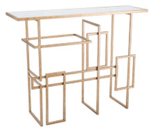 Multiples Console Table Gold, 16734