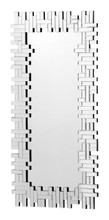 Puzzled Rectangular Mirror Clear, 16862