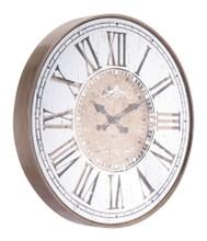 Hora Clock Antique Silver, 16891