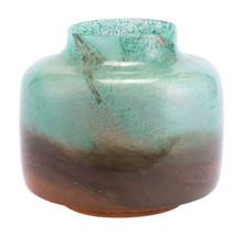 Joo Large Vase Translucent Green & Orange, 16901