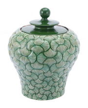 Ventra Small Temple Jar Green, 16940