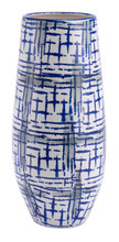 Rioja Large Vase Blue & White, 16960