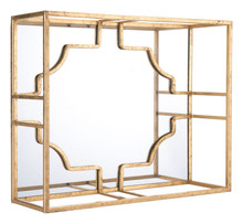 Cube Large Wall Decor Gold, 16973