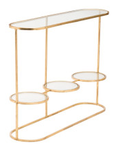 Aron Console Table Gold, 16992