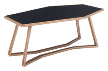 Geo Coffee Table Black & Gold, 16995