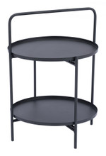 Leve End Table Black, 16999