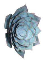 Lotus Lg Wall Décor Blue, 17050