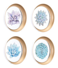 Set Of 4 Plates Multi, 17067