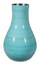 Aralia Lg Vase Blue, 17070