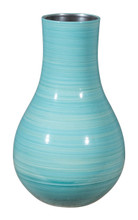 Aralia Md Vase Blue, 17071