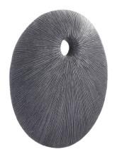 Round Eye Medium Plaque Dark Gray, 17104