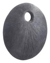 Round Eye Large Plaque Dark Gray, 17105