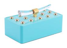 Gina Small Box Lake Blue, 17165