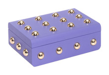 Male Lg Box Violet, 17193