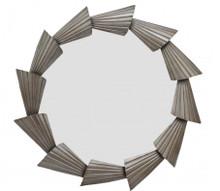 Abani Round Mirror Silver, 17198