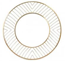 Avila Sm Round Mirror Gold, 17202