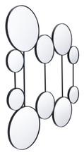 Cery Round Mirrors Black, 17219