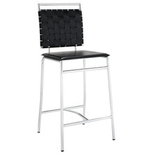 Fuse Counter Stool in Black
