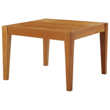 Northlake Outdoor Patio Premium Grade A Teak Wood Side Table, Wood, Natural, 17825