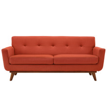 Engage Loveseat in Atomic Red