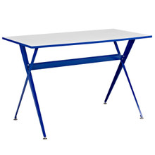 Expound Desk in Blue