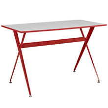 Expound Desk in Red