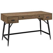 Surplus Desk in Walnut