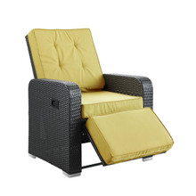 Commence Patio Armchair Recliner in Espresso Peridot