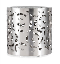 Kihei Stool, Silver Stainless Steel