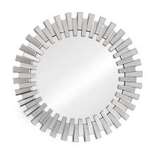 Sundial Mirror, Clear Wood